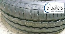 195x60x12 104/102N JOURNEY COMMERCIAL TRAILER TYRE 8PLY M+S - 900kg RATING